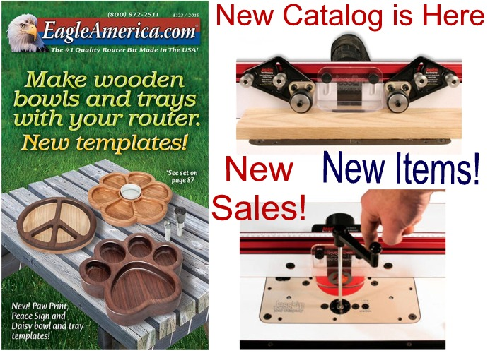 New Catalog: Master Bit Set and Router Tables on SALE!