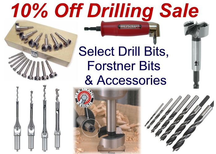 10% Off Drilling Sale